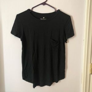 American Eagle Soft & Sexy T Shirt- Black